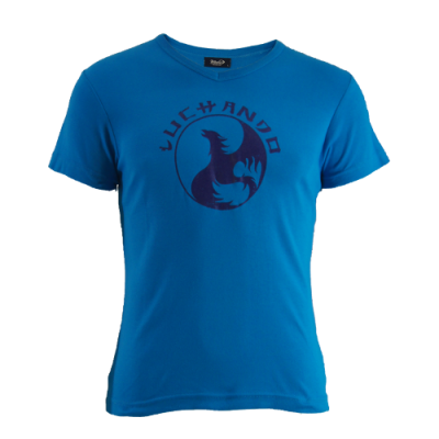 LuChanDo T-shirt, blue - face