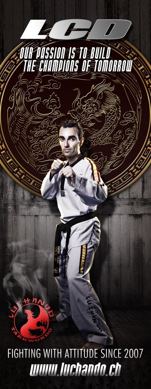 Lu-Chan-Do Taekwondo Banner