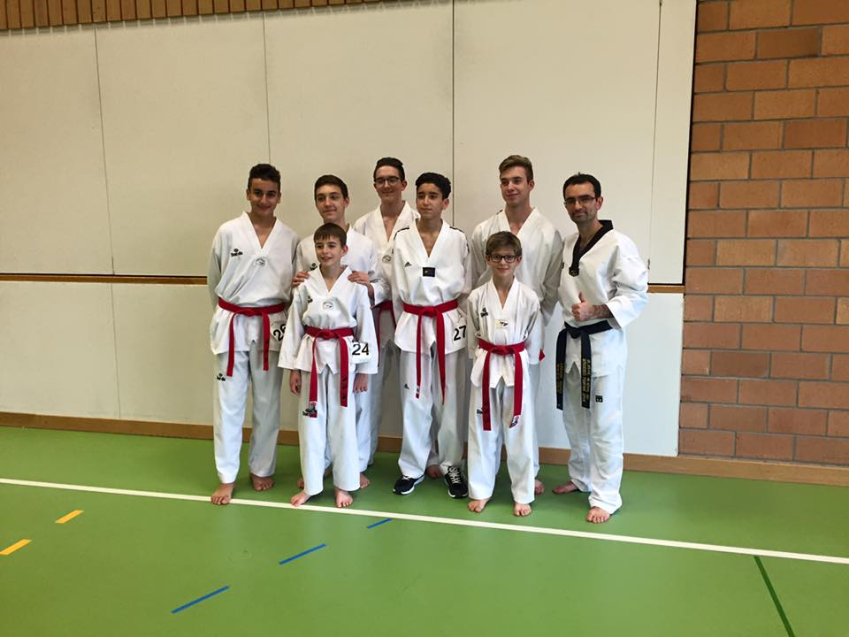 8 new black belts in 2015